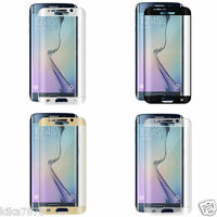 film protecteur & écran verre trempé Samsung Galaxy S6 S7 S8 Edge Plus S9
