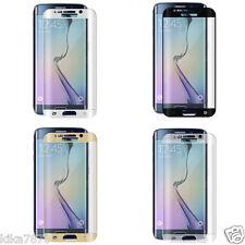 film protecteur & écran verre trempé Samsung Galaxy S6 S7 S8 Edge Plus or noir .