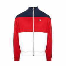 Fila Peacoat/Chinese Red-White Sterling Colour BLK Track Top