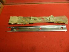 NOS 62 Ford Galaxie 500 XL LH Panel Front Fender Finish Moulding #C2AZ-16411-A