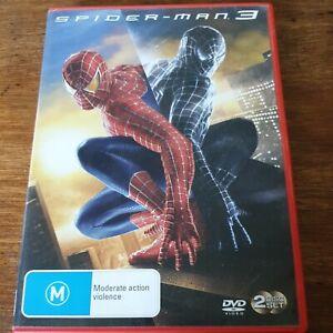 Spider-Man 3 DVD R4 VERY GOOD - FREE POST
