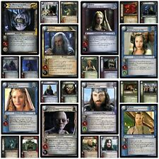 Lord of the Rings TCG Decipher Cards ~ Mount Doom Shadows Black Rider Bloodlines