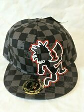 NEW 2013 Insane Clown Posse Hatchet Man Checkered Fitted Hat Med or Large