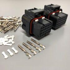 MoTeC PDM 26 + 34 Pin Connector Plug Kit PDM15 PDM30 E888 AMP ECU PDM-15 PDM-30