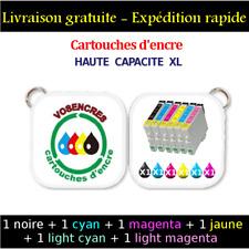 1+5 cartouches d'encre non-oem Epson T0801 T0802 T0803 T0804 T0805 T0806