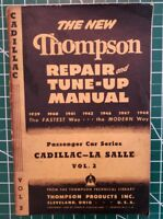 THOMPSON REPAIR & TUNE-UP MANUEL 1939 1948  CADILLAC - LA SALLE VOL 2