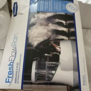 Petmate Fresh Flow Rain Battery Powered Pet Fountain for Cats and Dogs, 75 oz