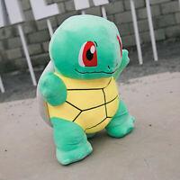 Pokemon JUMBO SQUIRTLE Plush Toy Cute Tortoise Stuffed Pillow Doll Gift 22''