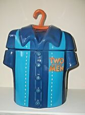 RARE TWO AND A HALF MEN COOKIE JAR CHARLIE SHEEN CERAMIC MADE IN USA TV SHOW