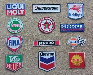Set of 12 Motor Racing / Motor Sport Patches : Classic Cars Goodwood Festival a