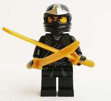 LEGO NINJAGO original minifig from polybag 30087 COLE ZX minifigure w/accessory