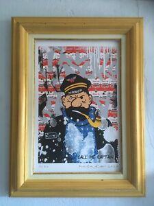ART PRINT MISAKO Street Art Tintin