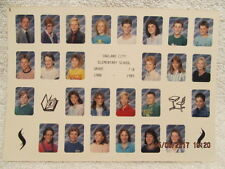 1988-1989 Photo Grade 7-B Class at Oakland City IN Elementary School 5X7 Color