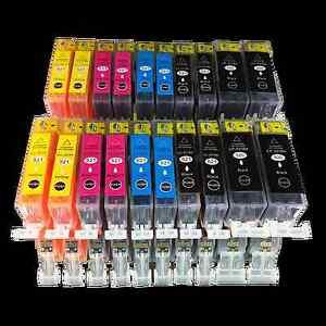 20x Patronen für CANON PIXMA IP3600 IP4600 MP540 MP550 MP560 MP620 MP630 MP980