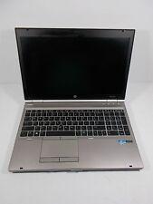 Hp EliteBook 8570p Intel i5 250GB HDD 8GB RAM Win10 Pro Wifi Webcam