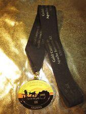 Lost Dutchman Marathon Arizona 8K Pot of Gold Run Race Finisher Medal