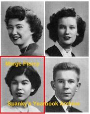 1950's Detroit High School YB w/ Author Marge Piercy~Woman on the Edge of Time++