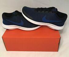 Nike Flex Experience RN 7 4E Wide Mens Running Shoes Blue Black White AA7405-003