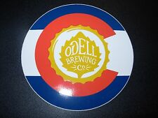 ODELL BREWING CO Colorado Logo STICKER decal craft beer brewery Ft Collins