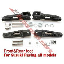 Avant et Arrière Repose-Pieds Foot Pegs F Suzuki GSR400 GSXR600 GSXR750 GSXR1000 GSX1300R