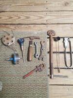 lot of (10) vintage tools (random)