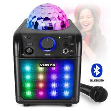 More details for b-stock sbs50b+ karaoke machine bluetooth speaker, lights, microphone, battery /