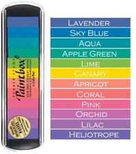 ColorBox Pigment Paintbox 2 Option Pad 12 Colors-pastel