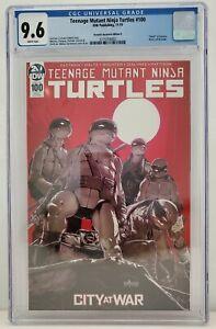 TMNT #100 Retailer Incentive RI-A IDW CGC Graded 9.6 Teenage Mutant Ninja
