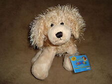 Ganz Webkinz Golden Retriever Dog Plush Beanbag With sealed Code