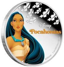 Niue 2 Dollar 2016 - Disney™ Pocahontas™ Prinzessinnen (11.) - 1 Oz Silber PP