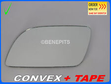 Wing Mirror Glass VW POLO 2001-2004  CONVEX + TAPE Left Side #1030 125