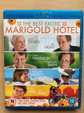 The Best Exotic Marigold Hotel Blu-ray ~ 2012 Comedy Drama with Judi Dench