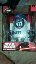 DISNEY STORE STAR WARS R2-D2 TALKING ASTROMECH DROID 10.5 inch NEW GLOBAL SHIP
