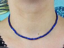 Runde Echtschmuck-Halsketten & -Anhänger mit Lapis Lazuli für Damen