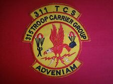 US 311th TROOP CARRIER SQUADRON, 315th TROOP CARRIER GROUP - Vietnam War Patch