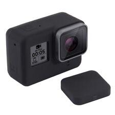 PULUZ Silikon Schutz Hülle Case Gehäuse Tasche für GoPro Hero 5 und 6 Schwarz