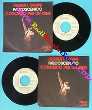 LP 45 7'' HERBERT PAGANI Palcoscenico Concerto per un cane PROMO no cd mc dvd
