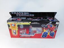 TRANSFORMERS G1 POWERMASTER OPTIMUS & HiQ FIGURE PRIME SEALED MIB HASBRO 1987