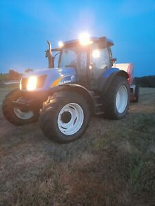 new holland ts135a tractor