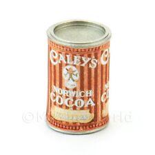 Maison de poupées miniature canette de caleys Norwich Cacao poudre