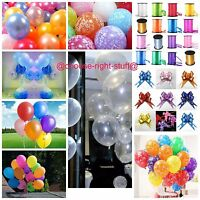 METALLIC PEARLISED HIGH QUALITY LATEX BALLOONS ALL baloons Decorations all party