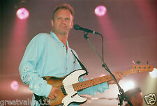 STING PHOTO 1996 HUGE UNIQUE UNRELEASED 12 INCH EXCLUSIVE IMAGE LONDON RARITY