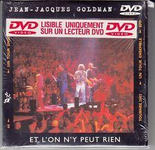 """DVD 3 T JEAN JACQUES GOLDMAN """"ET L'ON N'Y PEUT RIEN"""""""