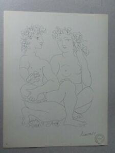 Pablo Picasso, Lithograph 1956