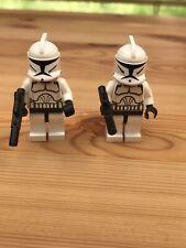 2 X Lego Star Wars Clone Troopers X2  Minifigures
