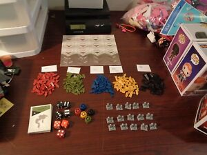 2008 Risk The Game Strategic Conquest Replacement Parts 337 LOOK