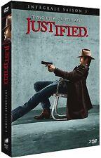 39897//JUSTIFIED SAISON 3 COFFRET 3 DVD NEUF SOUS BLISTER
