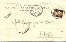 P2823   FROSINONE    Ditta Claudio Stracca  Arti Grafiche