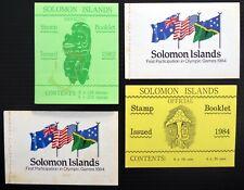 SOLOMON ISLANDS Booklets (4) Complete Few Small Faults CT148