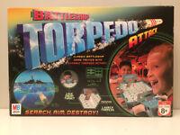 BATTLESHIP TORPEDO ATTACK Classic Childrens Board Game 2007 MB Games Hasbro   K1